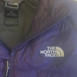 The North Face Purple Down Vest